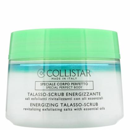 COLLISTAR ENERGIZING TALASSO-SCRUB, Revitalizing Exfoliating Salts