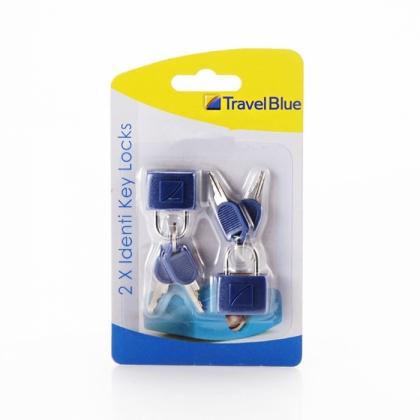 Travel Blue Key Lock