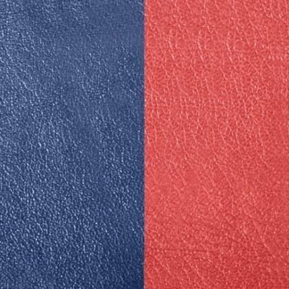 Кожаная вставка Les Georgettes 14 mm rust/navy blue