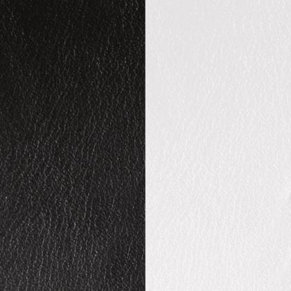 Кожаная вставка Les Georgettes 14 mm black/white