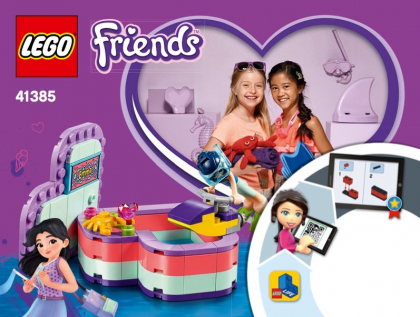 LEGO 41385 Emma's Summer Heart Box
