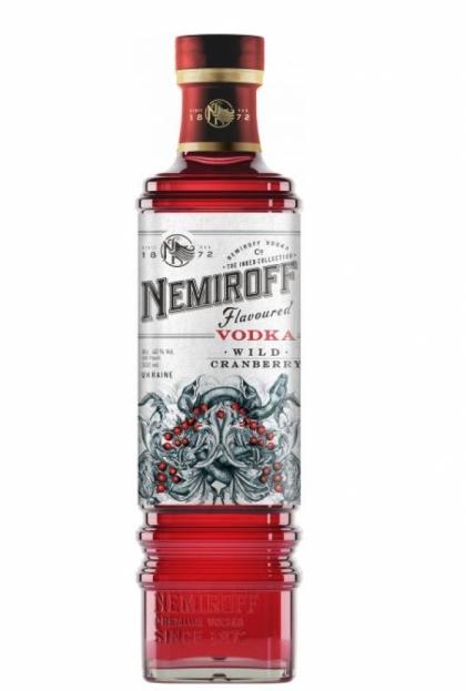 Nemiroff Wild Cranberry De Luxe 0.5L