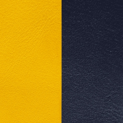 Кожаная вставка Les Georgettes 40 mm sun/navy blue