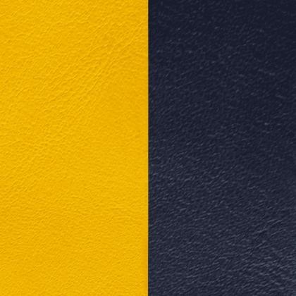 Кожаная вставка Les Georgettes 25 mm sun/navy blue