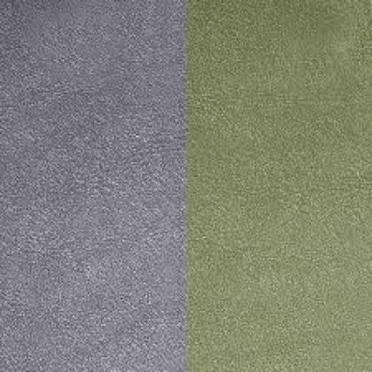 Кожаная вставка Les Georgettes 40 mm grey/green aloe