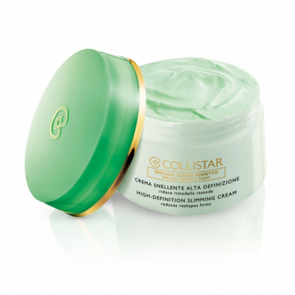 COLLISTAR HIGH-DEFINITION SLIMMING CREAM reduces reshapes firms