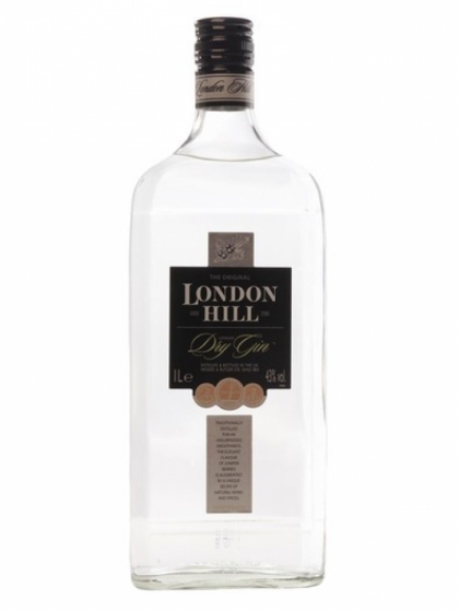 London Hill Gin 43% 1L