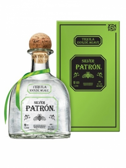 Patron Tequila Silver 40% 1L