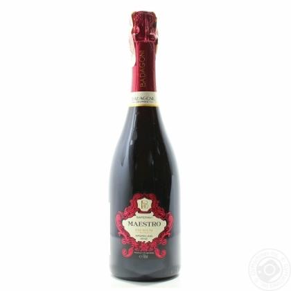Badagoni maestro shampagne saperavi red semi sweet 0.75L
