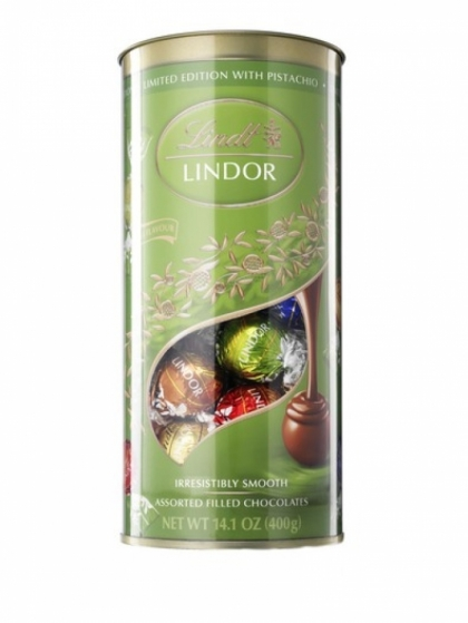 Lindor Tube with Pistachio 400g