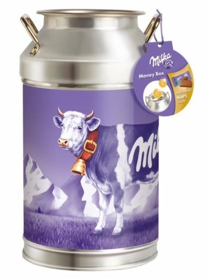 Milka Milk Can Money Box 150g