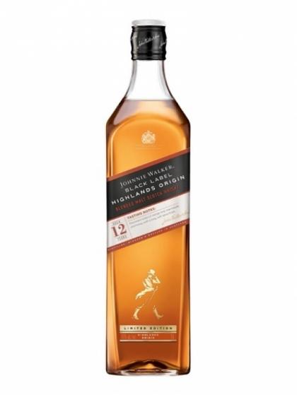 Johnnie Walker Black Label Highlands Origin 42% 1L