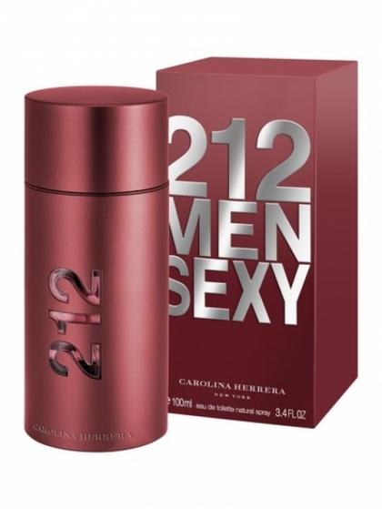 Carolina Herrera 212 Sexy Men Eau de Toilette 100 ml