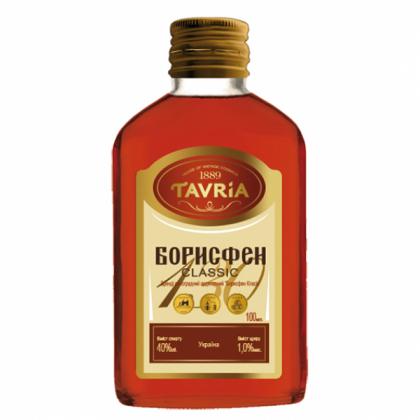 Tavria Brandy Borisfen Classic 40%  0.1L
