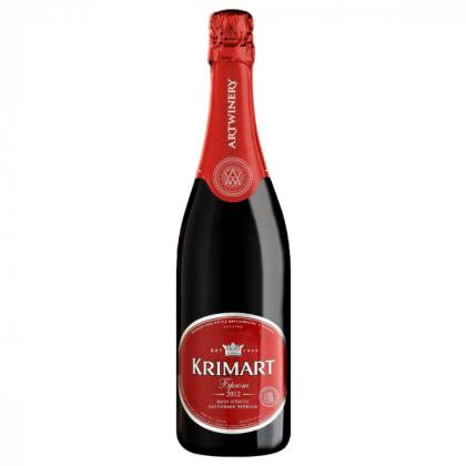 KrimArt red brut 0,75L