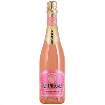 Артемовское розовое полусухое 0,75L