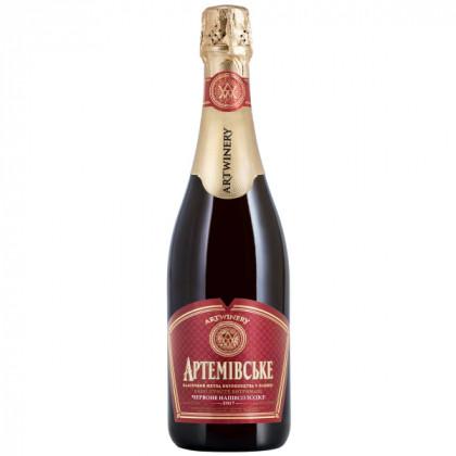 Artemivske red semi sweet 0,75L
