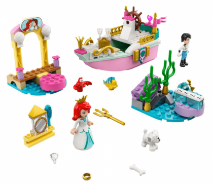 LEGO 43191 Ariel's Celebration Boat