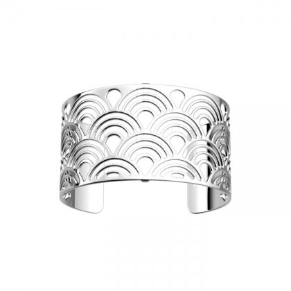 Браслет Les Georgettes silver shine Poisson 40 mm