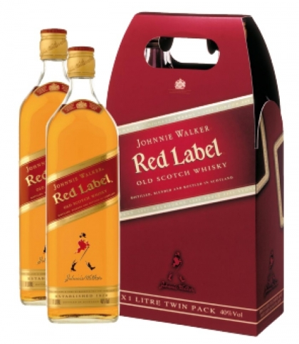 Johnnie Walker Red Label 40% 2x1l