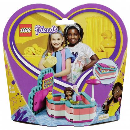 LEGO 41384 Andrea's Summer Heart Box