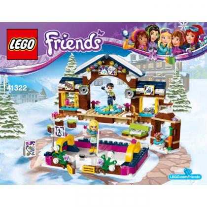 LEGO 41322 Snow Resort Ice Rink