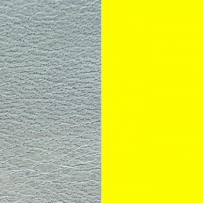 Кожаная вставка Les Georgettes 40 mm azure/dayglo yellow