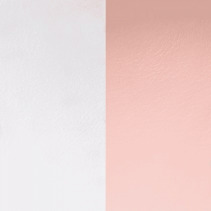 Кожаная вставка Les Georgettes 40 mm light grey/light pink