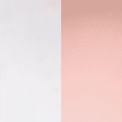 Кожаная вставка Les Georgettes 25 mm light grey/light pink