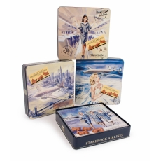 Starbrook Milk Chocolate Airplanes 200g (6 Tins)