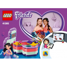 LEGO 41385 Emma's Summer Heart Box