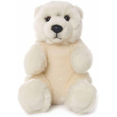 WWF Polar bear sitting 15 cm