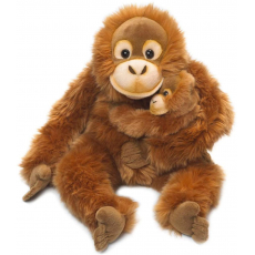 WWF Orangutan mother & child 25 cm