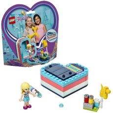 LEGO 41386 Stephanie's Summer Heart Box
