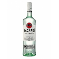 Bacardi Carta Blanca 37.5% 1L