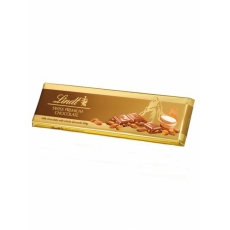 Lindt Tablet Gold milk chocolate with almonds 300g