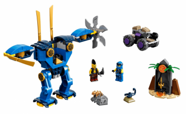 LEGO 71740 Jay's Electro Mech