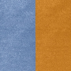 Кожаная вставка Les Georgettes 40 mm canyon/blue denim