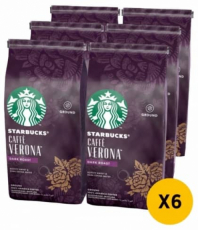 Starbucks dark caffe verona RG 6X200G